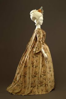 "Women's ""Andrienne"" dress, Robe à la française"