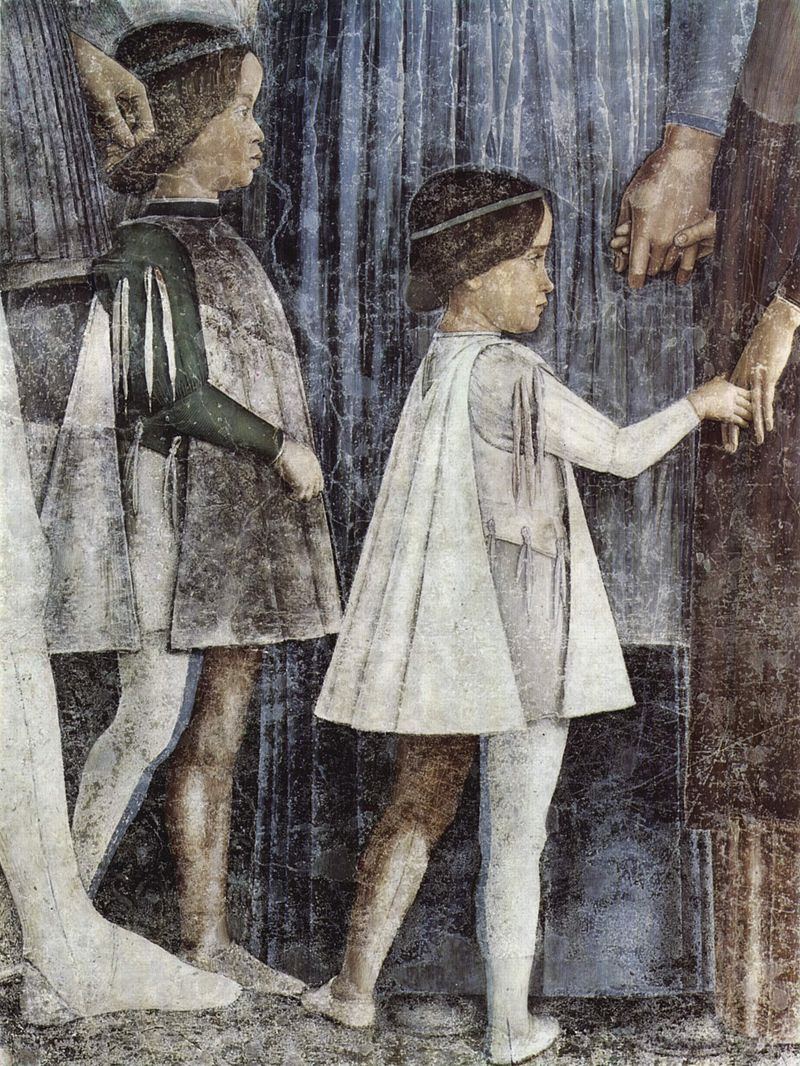 "Detail of ""The Meeting"""