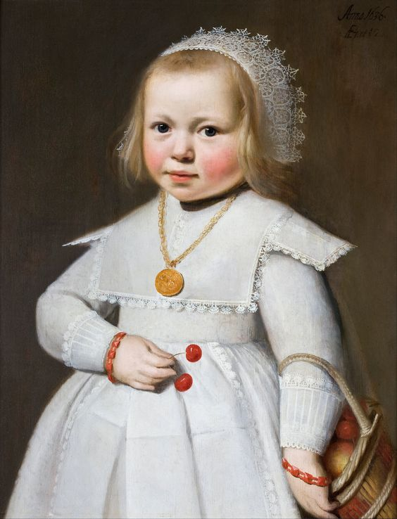 portrait of a two-year-old girl