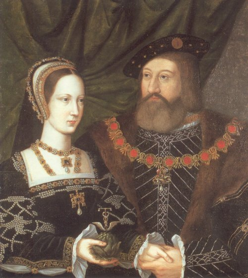 Portrait of Mary Tudor and Charles Brandon