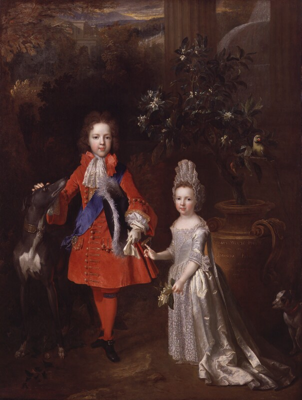 Prince James Francis Edward Stuart; Princess Louisa Maria Theresa Stuart