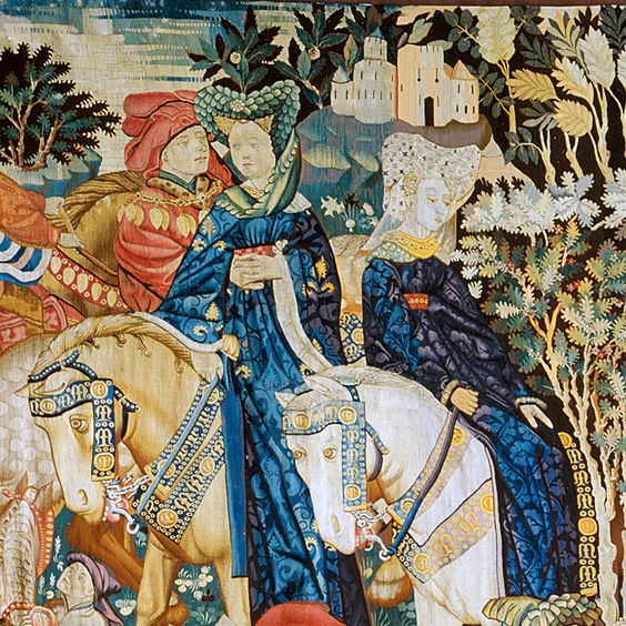 The Devonshire Hunting Tapestry: Falconry