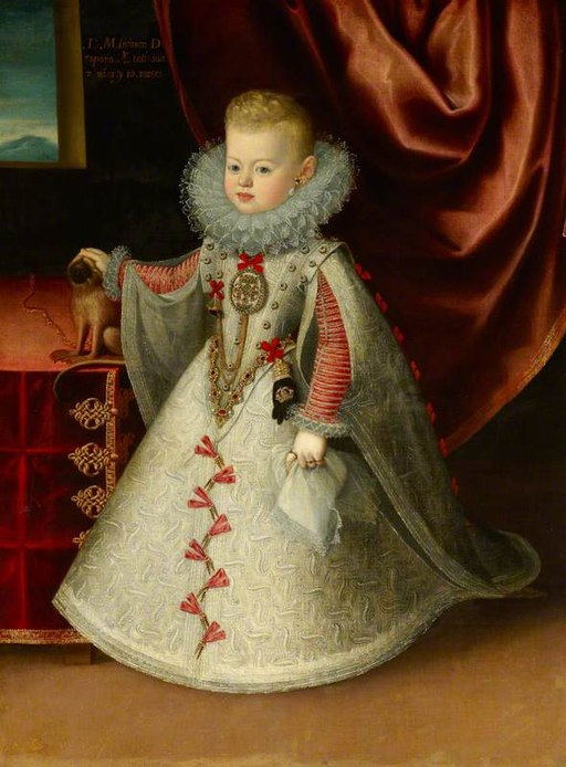 Maria Anna, Infanta of Spain, Later Archduchess of Austria, Queen of Hungary and Empress, as a Child