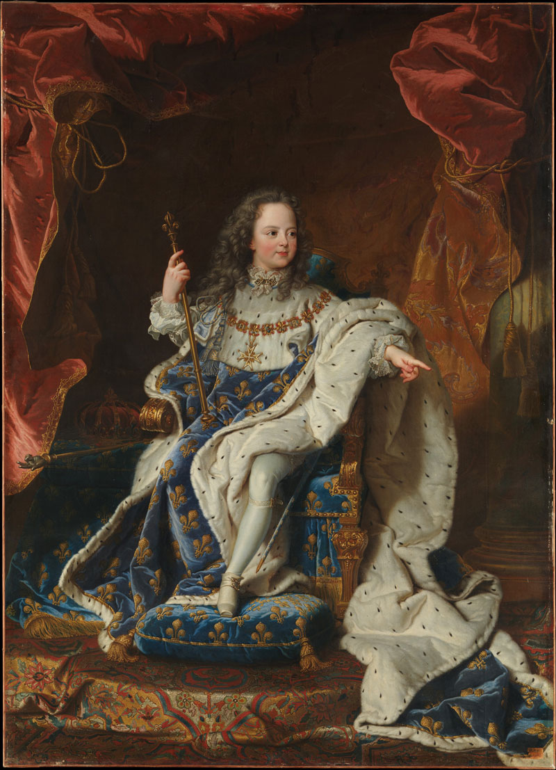 Louis XV (1710–1774) as a Child