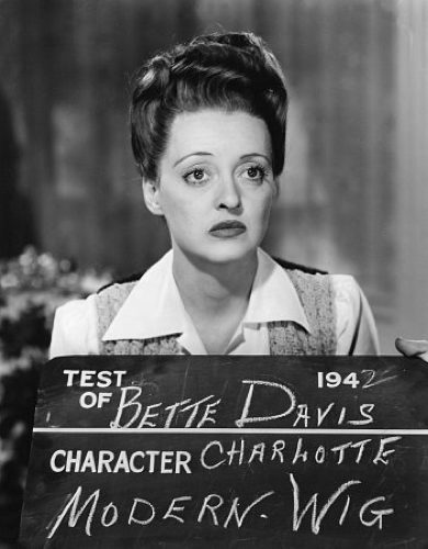 Bette Davis does a screen test for Now Voyager