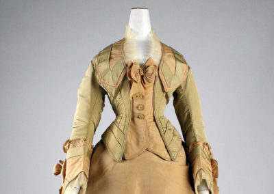 1872 – Mon. Vignon, Silk day dress