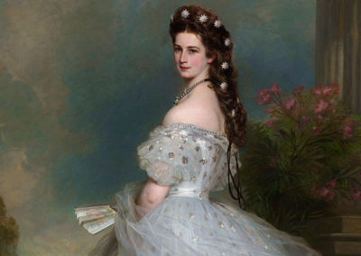 1865 – Franz Xaver Winterhalter, The Empress Elisabeth of Austria