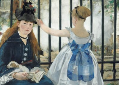 1873 – Édouard Manet, The Railway
