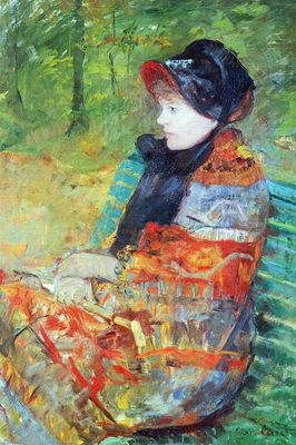 Autumn, Portrait of Lydia Cassatt