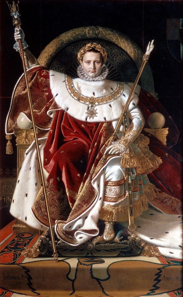 Napoleon on the Throne