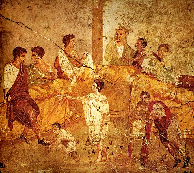 Pompeii Family Feast