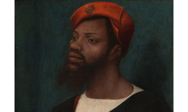 1525-30 – Jan Jansz Mostaert, Portrait of a Black Man