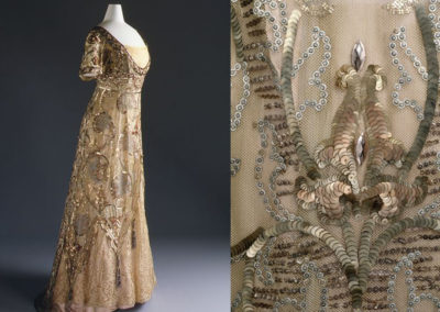 1910-14 – Callot Soeurs, evening dress