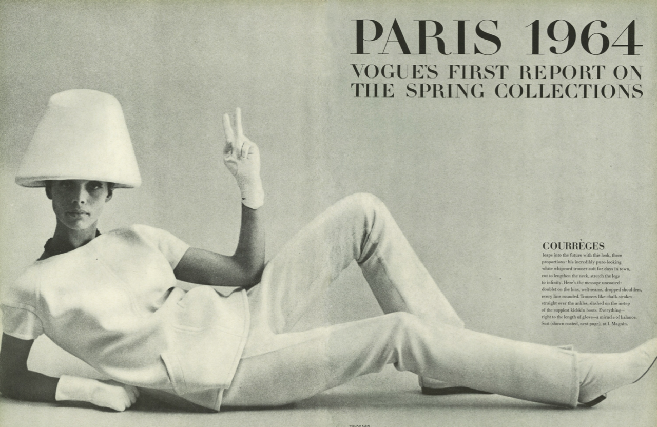 Fashion: Paris 1964: Vogue's First Report on the Spring Collections