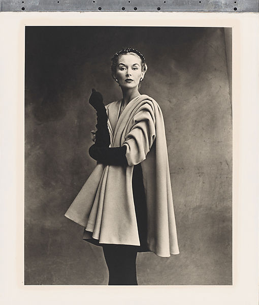 Balenciaga Mantle Coat (Lisa Fonssagrives-Penn), Paris