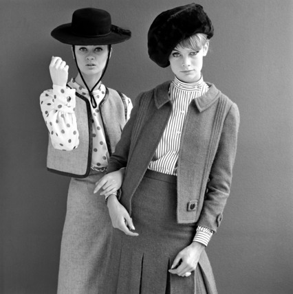 Jean Shrimpton and Celia are wearing Mary Quant designs