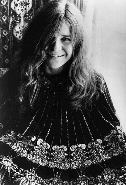 Publicity photo of Janis Joplin