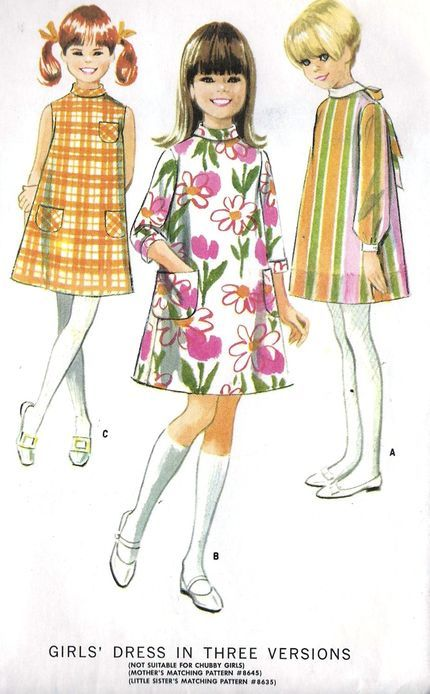 Girls' dress in Three Versions/McCall's 8627