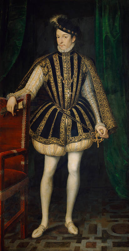 King Charles IX of France (1550-1574)