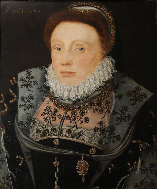 Portrait of an Unknown Lady (once called 'Catherine Parr', and then 'Catherine Vaux, Lady Throckmorton')