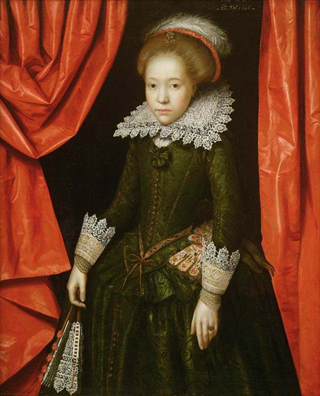 Portrait of a girl from the de Ligne family