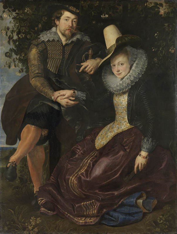Rubens and Isabella Brant in the Honeysuckle Arbor