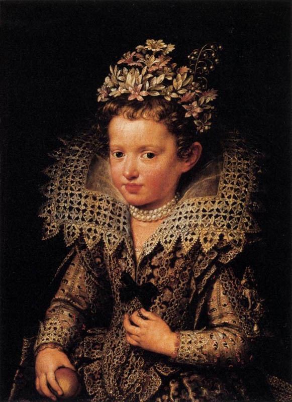 Eleonora of Mantua as a Child