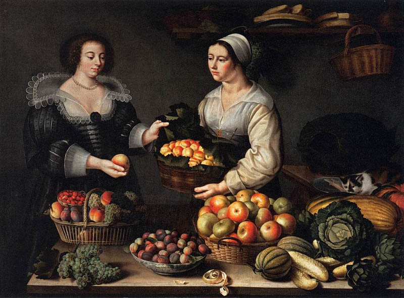 The Fruit and Vegetable Costermonger