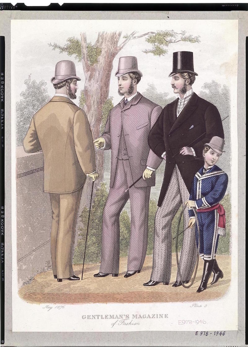 Gentleman's Magazine Fashion Plate