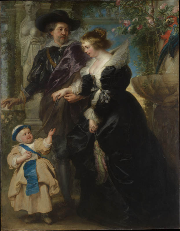 Rubens, His Wife Helena Fourment, and Their Son Frans