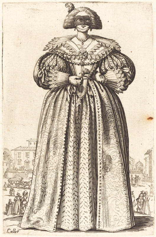 Masked Noble Woman