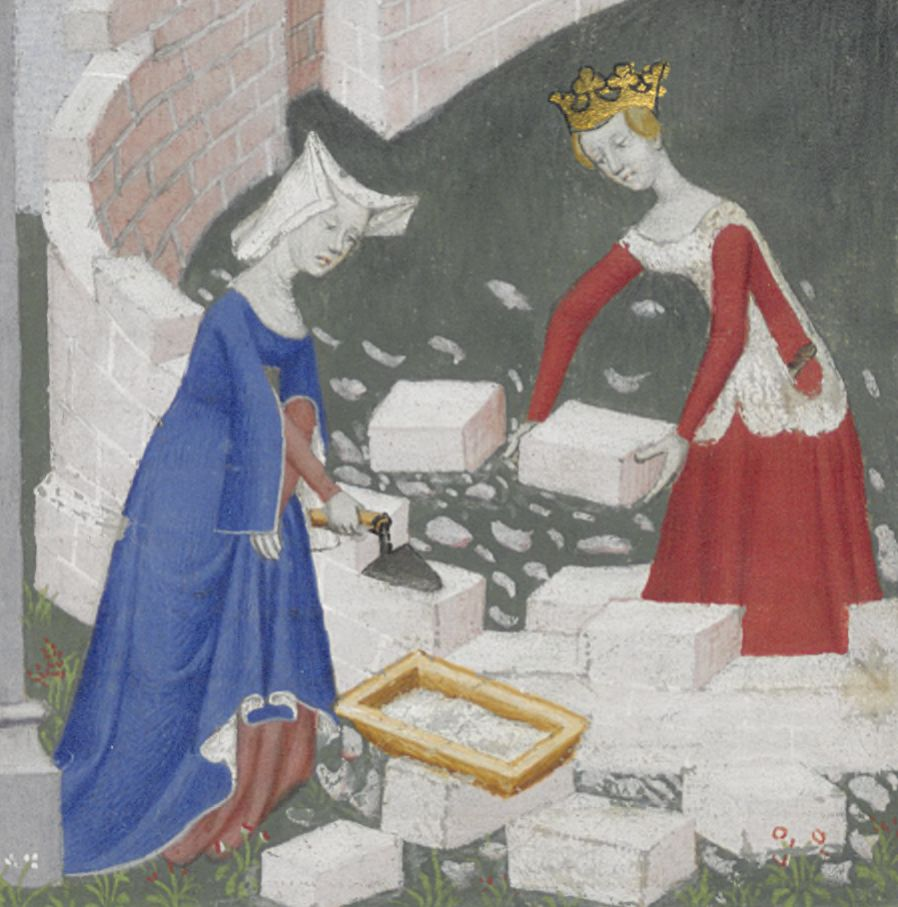"""Building the City of Ladies,"" Cité des Dames by Christine de Pizan"