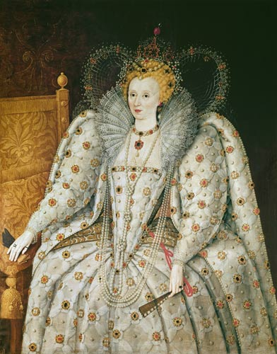 A variant of The Ditchley Portrait