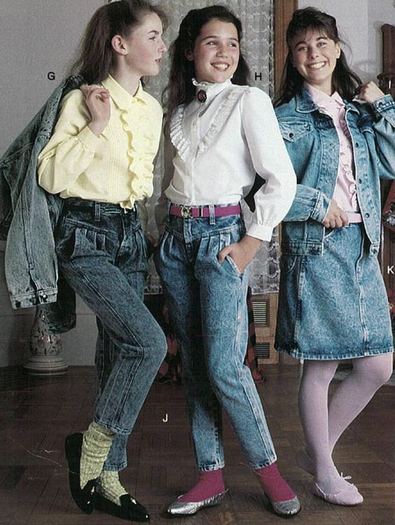 Girl's Clothing Ad