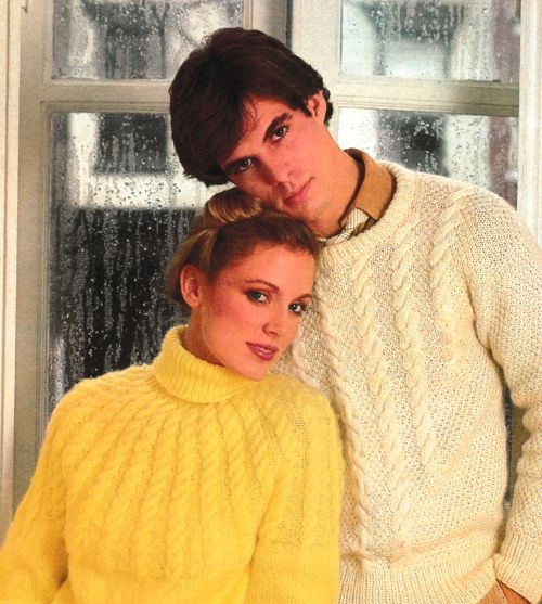 1980s Sweater Style