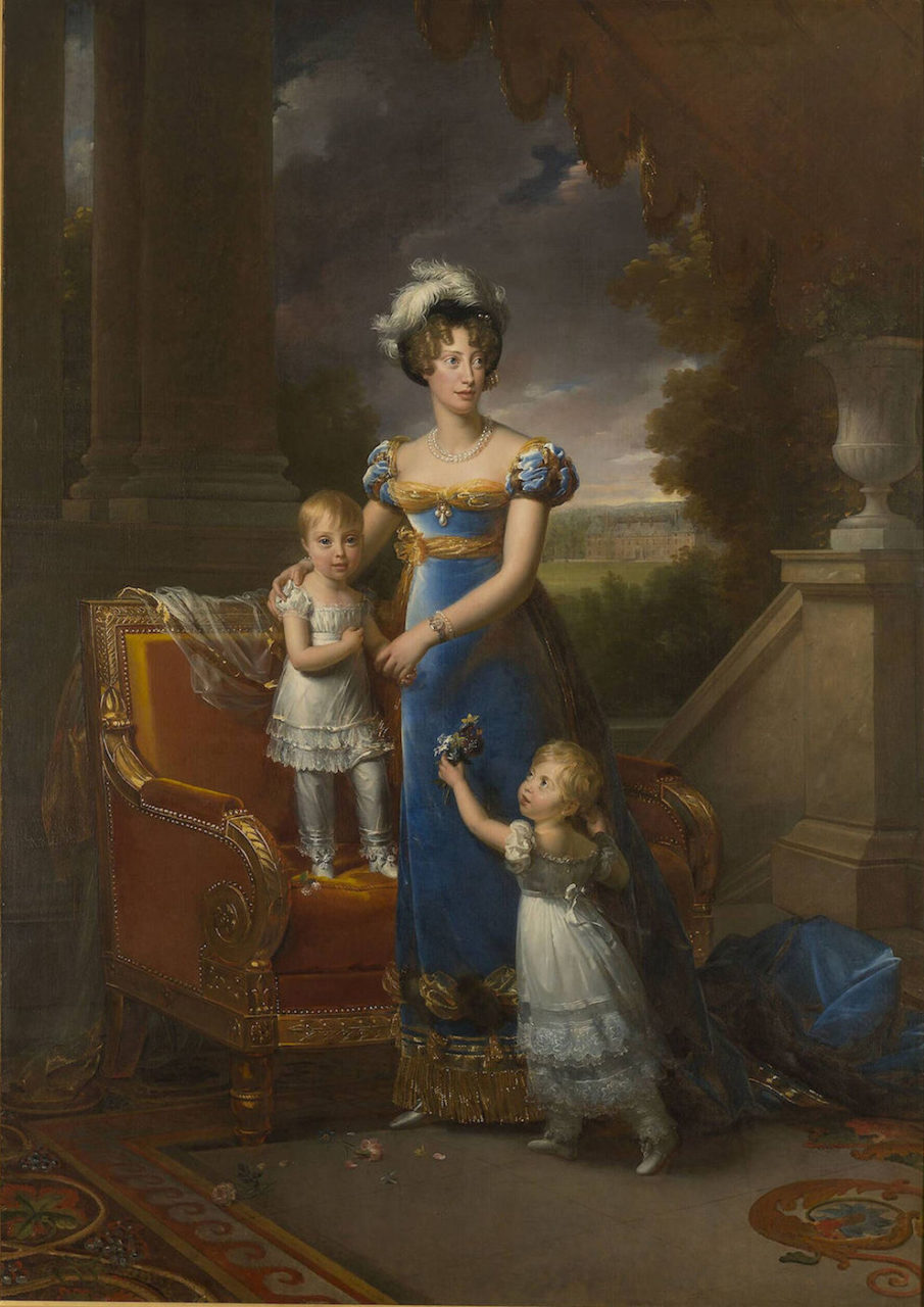 Marie-Caroline, Duchesse de Berry and her children
