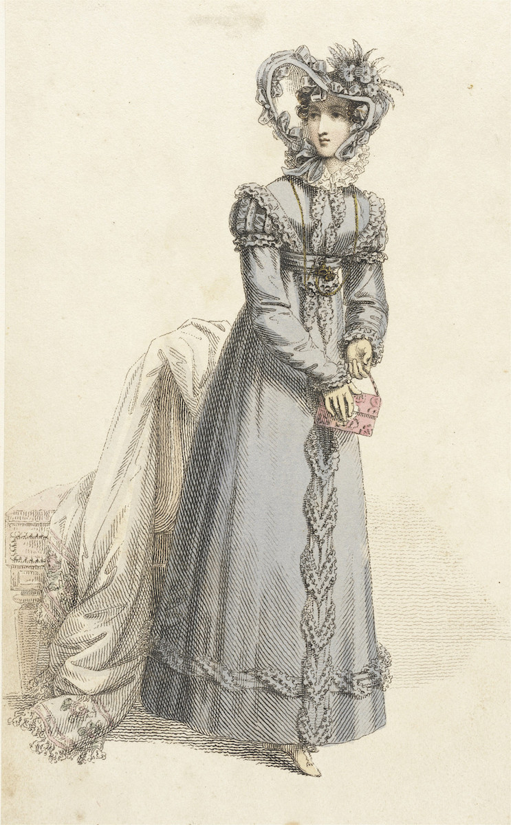 Fashion Plate: Walking dress