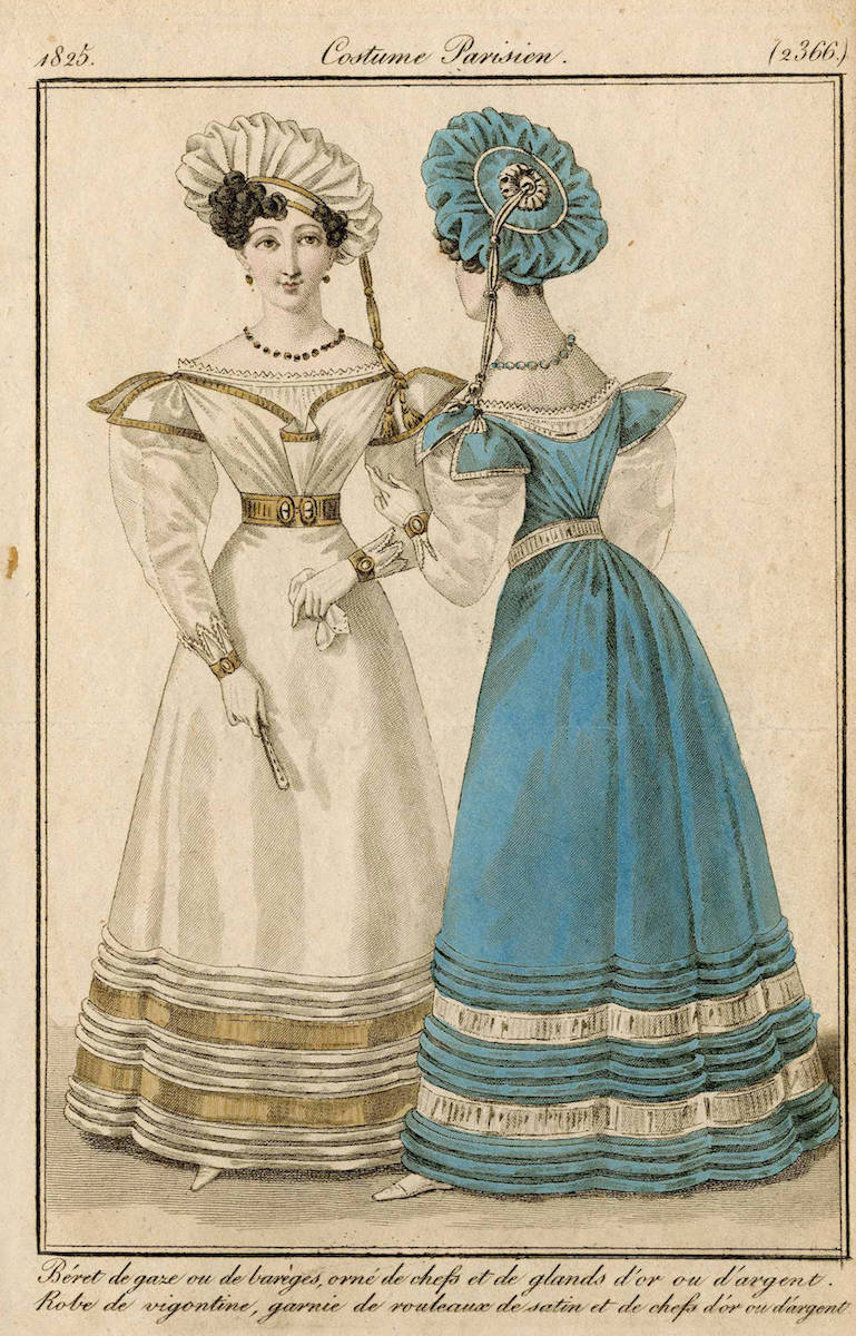 Costume Parisien Fashion Plate