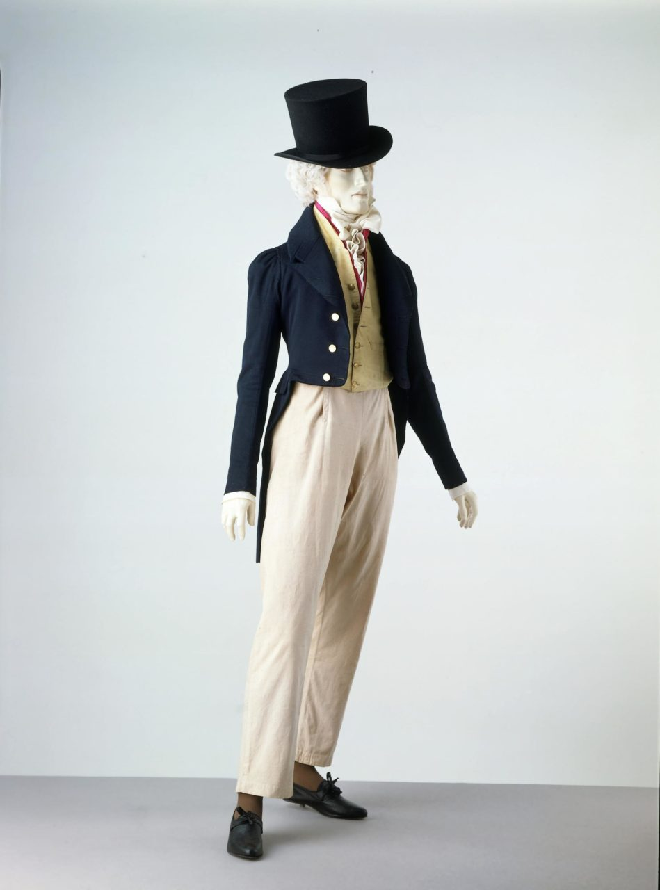 Dress coat and slip waistcoat