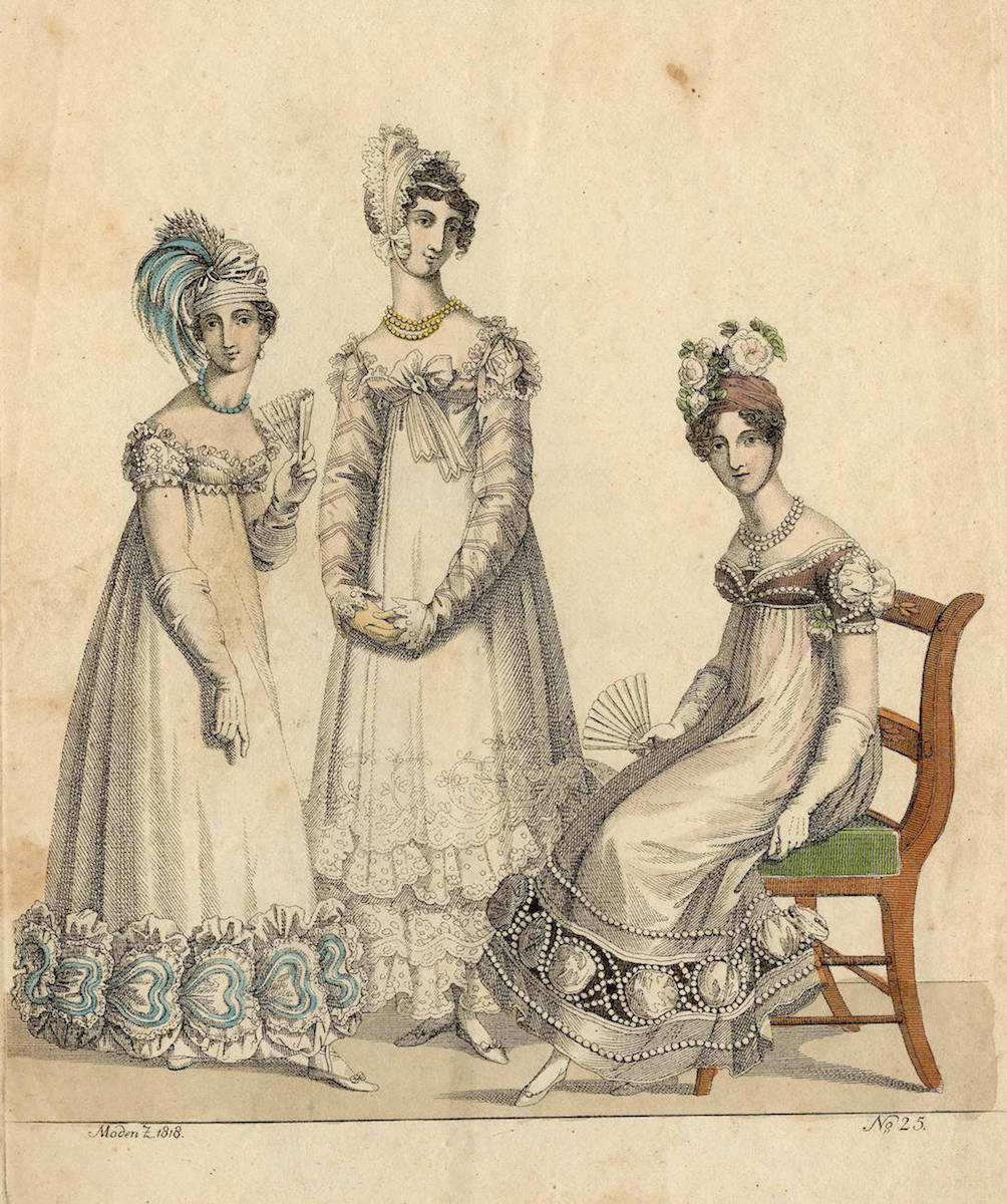 Fashion Plate: Evening Dresses