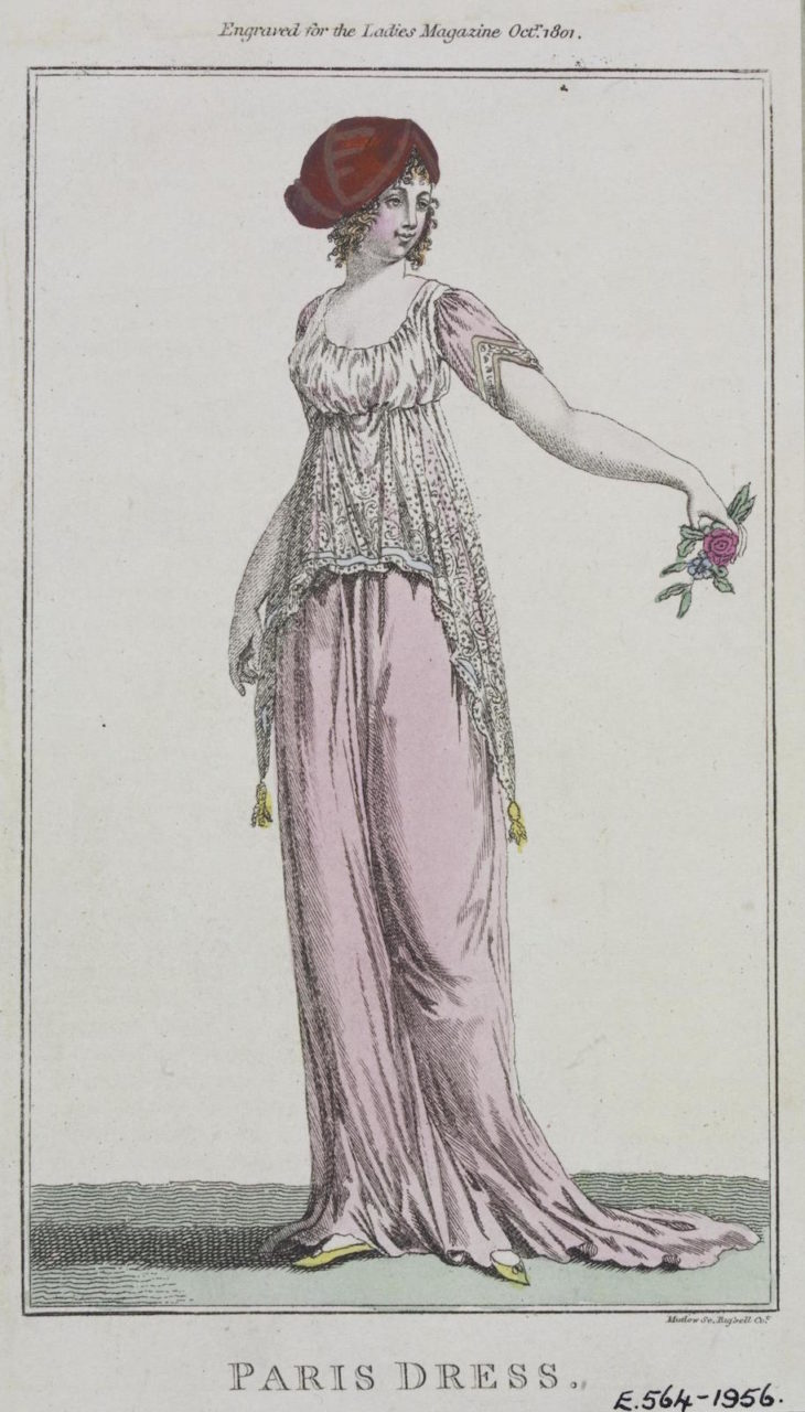"Fashion Plate: ""Paris dress"""