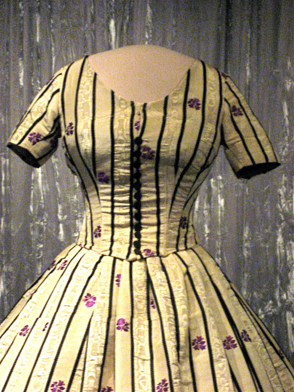 Evening dress for Mary Todd Lincoln