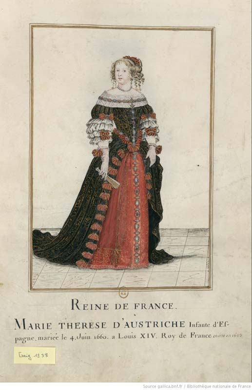 Queen of France, Maria Theresa of Spain