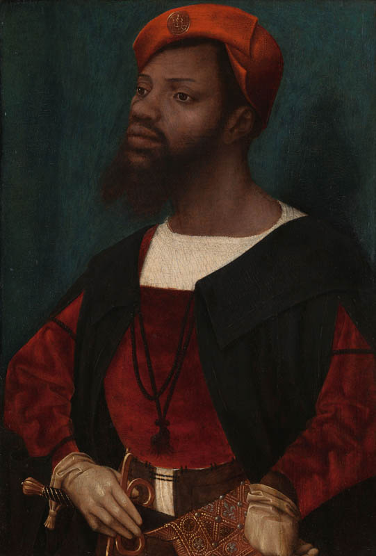 Portrait of an African Man (possibly Christophle le More)