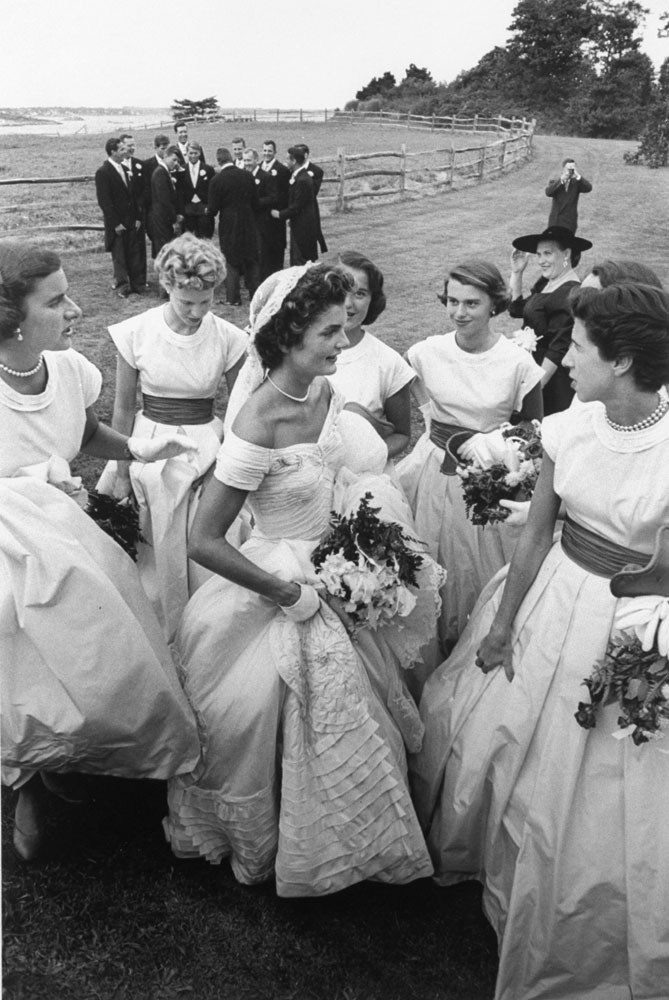Jacqueline and her bridal party