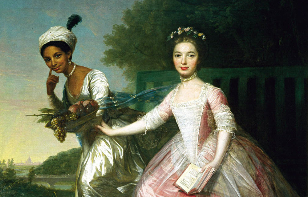 1778 – David Martin, Portrait of Dido Elizabeth Belle Lindsay and Lady Elizabeth Murray