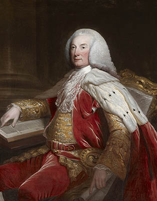 Portrait of William Murray, 1st Earl of Mansfield (1705 – 1793)