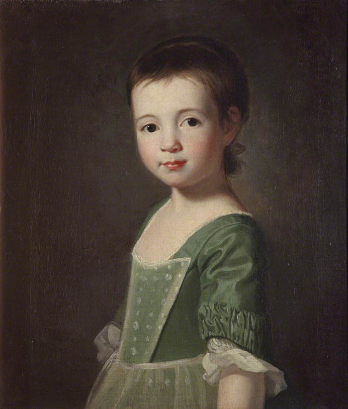 Portrait of a Girl (said to be Miss Collingwood)