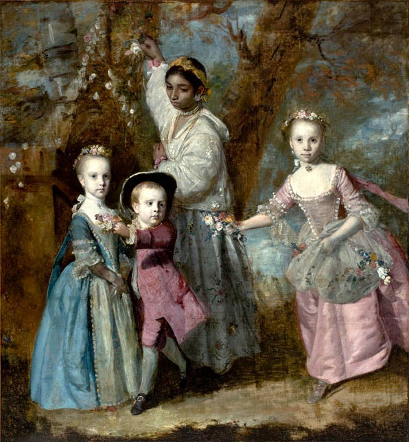 Elisabeth, Sarah & Edward, children of Edward Holden Cruttenden