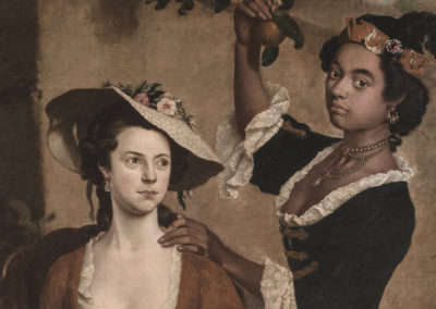1750 – Stephen Slaughter, Two Women Gathering Fruit